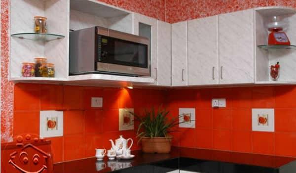 dapur merah putih minimalis 3