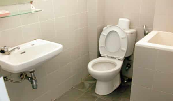 kamar mandi basah