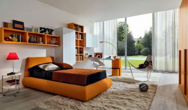 memasang karpet di kamar tidur 2