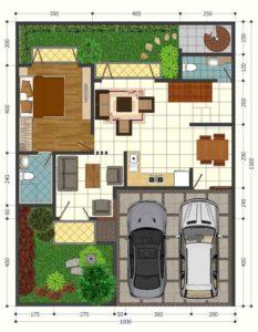Dijual Rumah 2 Lantai Di Bunga Geulis 3 Residence Pancoran Mas Depok